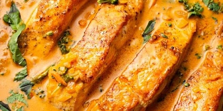 UBS - Virtual Cooking Class: Salmon Coconut Curry tickets