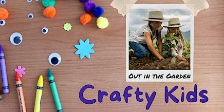Crafty Kids: Garden Crafts Kit tickets