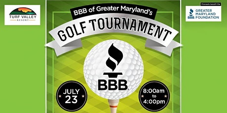BBB of Greater Maryland's Golf Tournament tickets