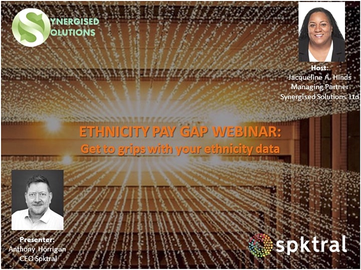 #EthnicityPayGap Webinar - Get to grips with your ethnicity data image