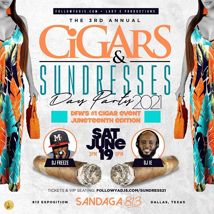 Cigars & Sundresses Day Party 2021 image