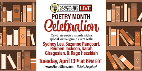 Northshire Live: Poetry Month Celebration tickets