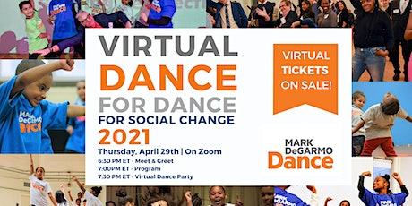 Virtual Dance for Dance 2021 for Social Change tickets