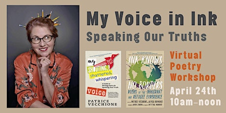 VIRTUAL EVENT: My Voice in Ink: Speaking Our Truths tickets