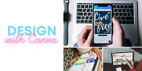 Designing with Canva tickets