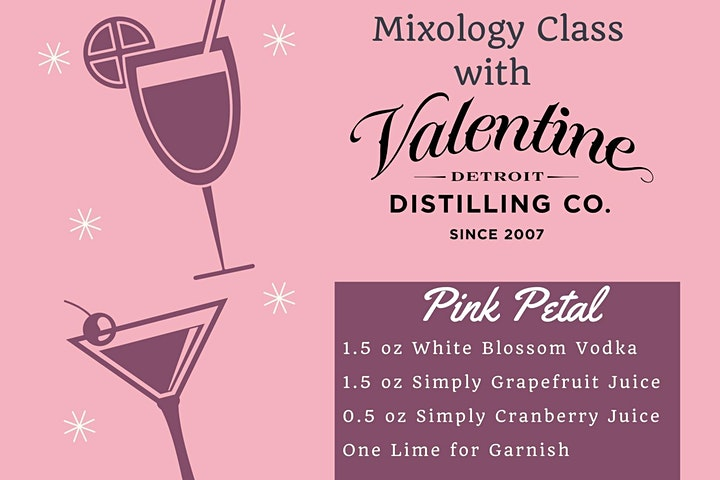 Virtual Mixology Class with Valentine's Distilling Co. image