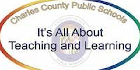 Charles County Public Schools  Virtual Secondary Teacher  Job Fair tickets