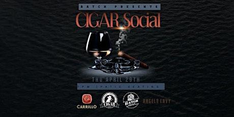 Cigar  Night at Batch Delray: POSTPONED tickets
