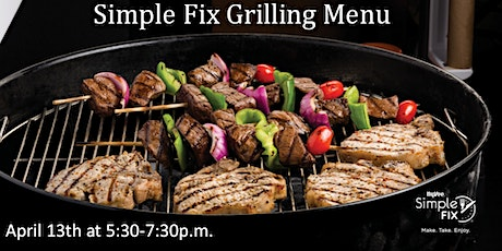 Simple Fix: Grilling Menu tickets
