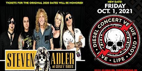 Steven Adler of Guns N Roses w/Whiskey A Go-Go tickets