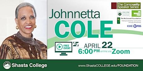 Community Speaker Series: Dr. Johnnetta B. Cole tickets