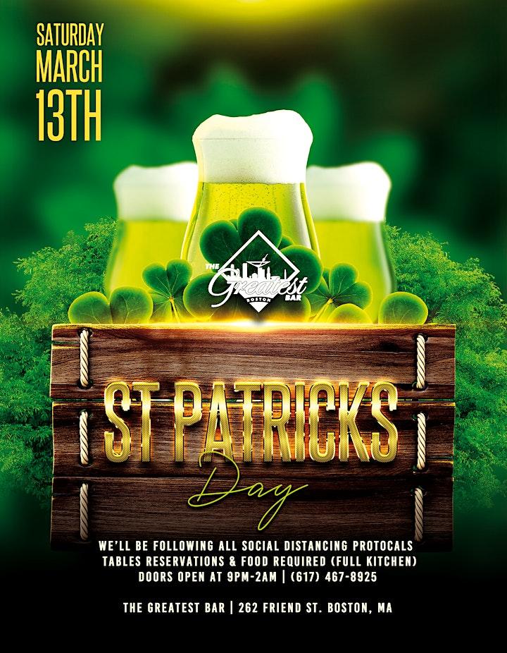 St. Patricks Day @ The Greatest Bar   Saturday image