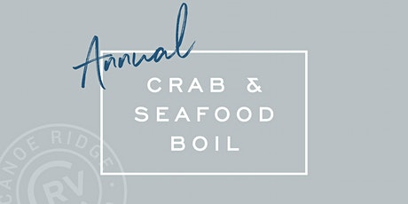 Annual Crab & Seafood Boil tickets