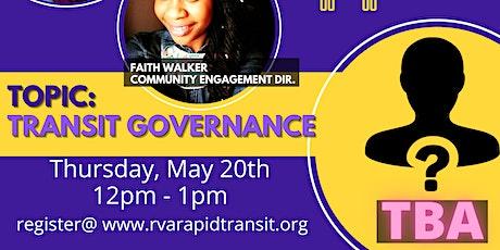 Transit Talk: Transit Governance biglietti