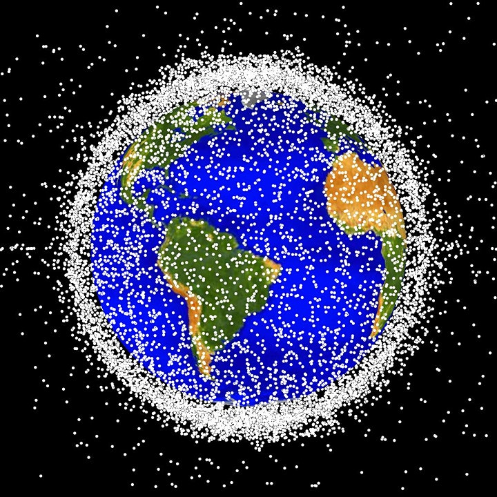 The Sticky Issue of Space Debris by James Blake (University of Warwick) image