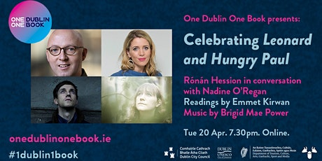 Celebrating Leonard and Hungry Paul - One Dublin One Book 2021 tickets