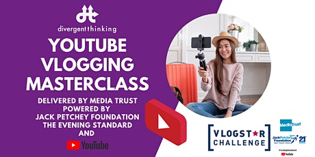 Free YouTube Vlogging Masterclass | In partnership with Media Trust biglietti