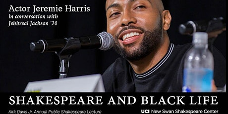 Actor  Jeremie Harris in Conversation with Jehbreal Jackson '20 tickets