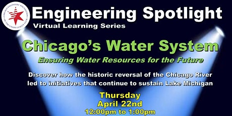 Engineering Spotlight:  Chicago's Water System tickets