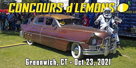 Concours d'Lemons Greenwich 2021 tickets