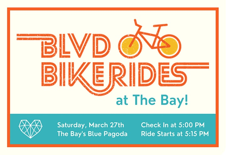 BLVD Bike Rides at The Bay! image