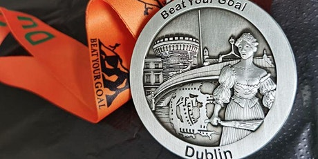 Virtual Running Event - Run/Walk 5K, 10K, 21K - Dublin  Medal tickets