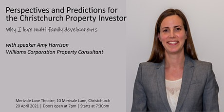 Perspectives and Predictions for the Christchurch Property Investor tickets