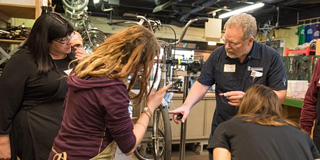 Bike School: Brake Adjustment and Wheel Truing tickets