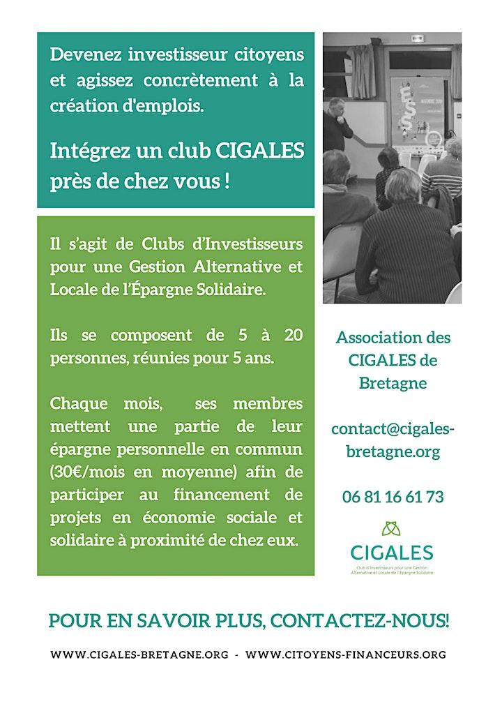 Image pour Présentation du club Cigales des communes du Nord de Rennes