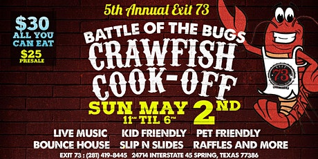 Exit 73's 5th Annual Crawfish Cook-Off! 2021 tickets