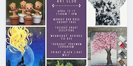 Kids Spring Break Art Week tickets