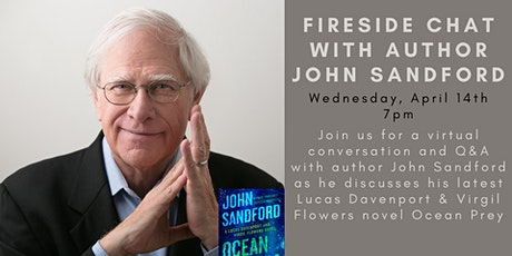 Fireside Chat with John Sandford tickets