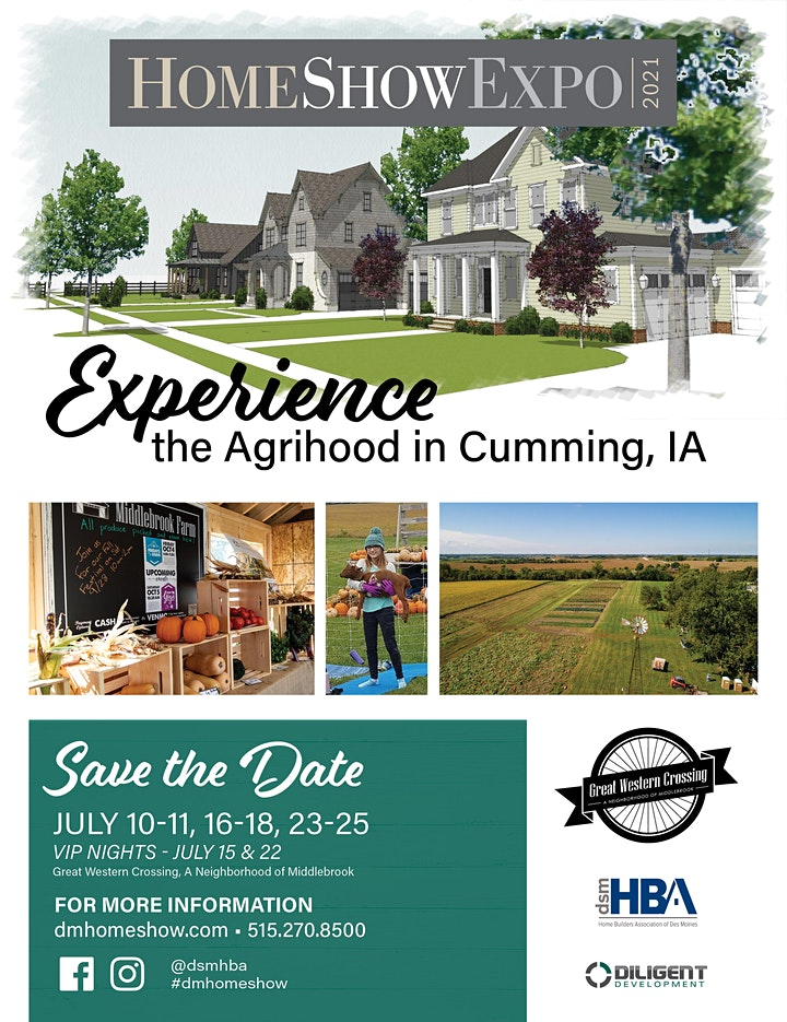 Copy of HomeShowExpo 2021- VIP Tickets image