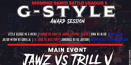 MEMPHIS DANCE BATTLE LEAGUE  (G-STYLE SESSION) tickets