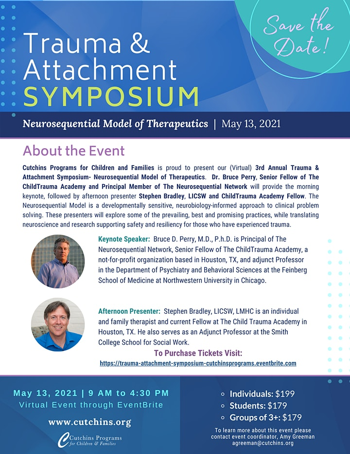3rd Annual Trauma and Attachment Symposium image