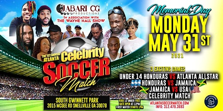 Atlanta  Celebrity  Soccer  Match tickets
