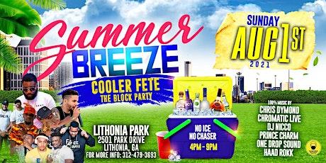 Summer Breeze Cooler Fete tickets