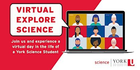 Virtual Explore Science - April 30 (BIOL 1000) tickets