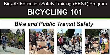 Bicycling 101: Biking and Public Transit Safety – Online Video Class tickets