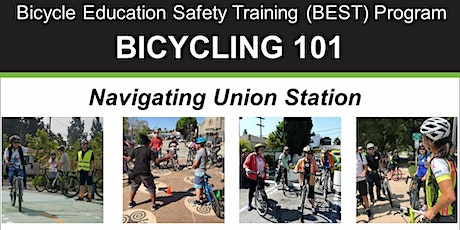 Bicycling 101: Navigating Union Station – Online Video Class tickets