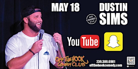 Comedian Dustin Sims  live  in Naples, FL tickets
