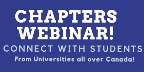 Chapters and Branches Webinar Tickets