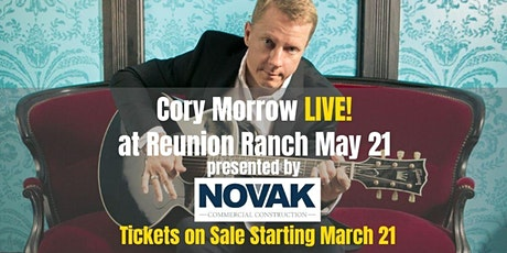 Cory Morrow LIVE at Reunion Ranch tickets