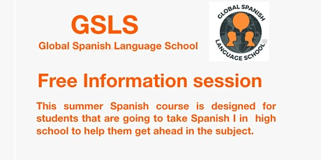 Free Information Session: Summer Spanish Course tickets