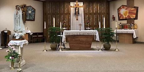 Saturday Evening Mass (Misa del sábado por la tarde) tickets