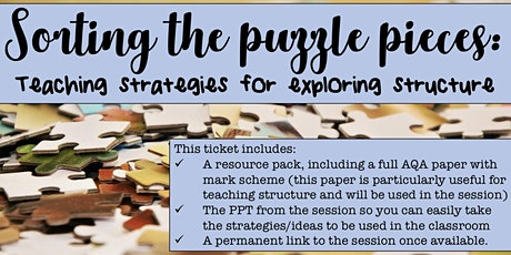 Strategies for teaching structure tickets