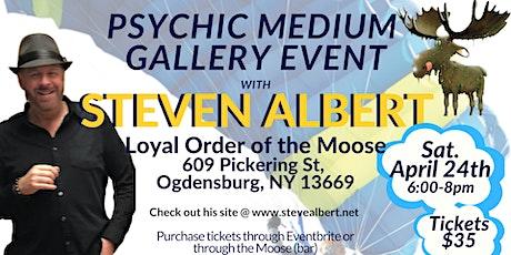 Steven Albert: Psychic Gallery Event - Ogdensburg tickets