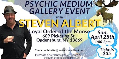 Steven Albert: Psychic Gallery Event - Ogdensburg- Sun tickets