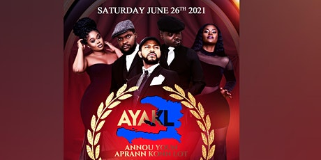 A.Y.A.K.L 1st Anniversary tickets
