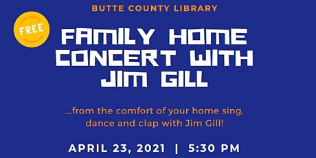 Jim Gill Family Home Concert tickets
